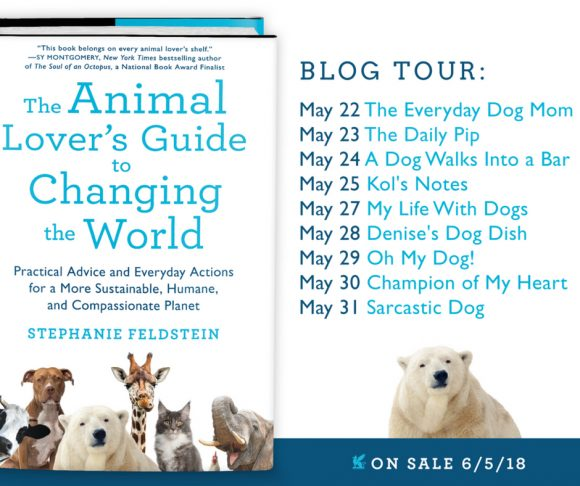 """Local Author Launches """"The Animal Lover's Guide to Changing the World"""""""